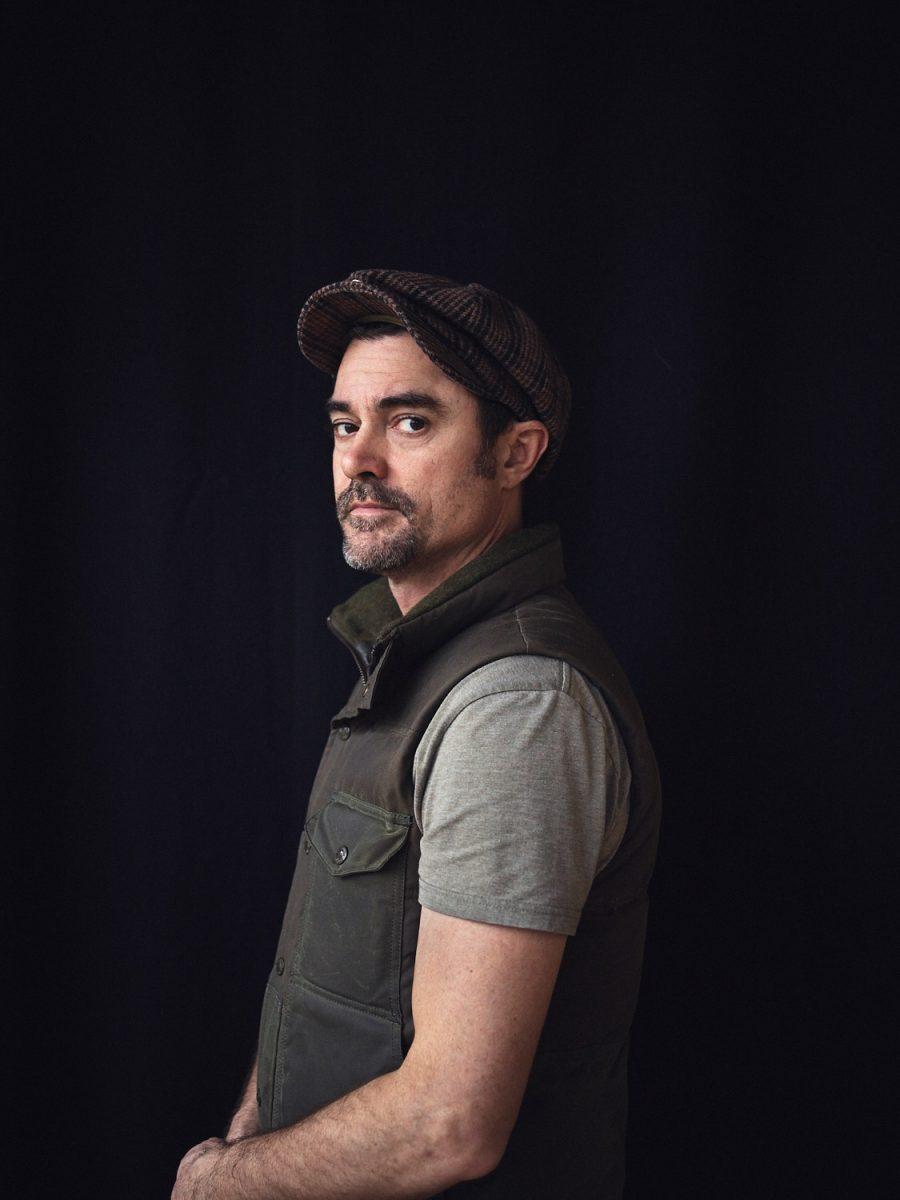 Brian Jackson, portrait, color, colour, portraiture, man, dude, vest, black, hat, style